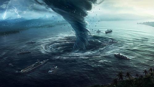 タイフーン・サイクロン・ハリケーンの違いとは?