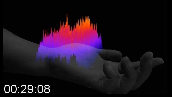 皮膚から放出される微量なガスを検出して可視化する「探嗅カメラ」