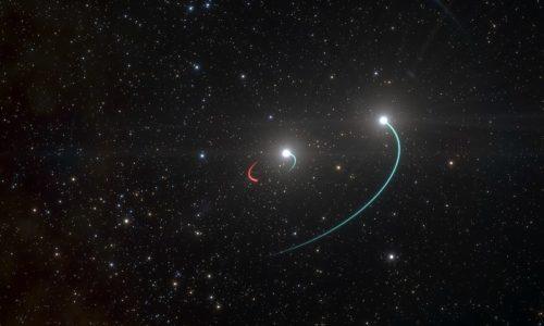 HR6819 blackhole