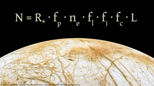 Europa Rising - Drake Equation