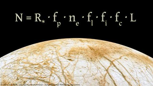 Europa Rising - Drake Equation