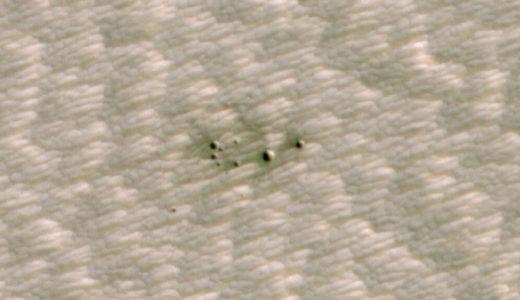 人工知能を活用してわずか4mの火星クレーターを5秒で検出、NASA